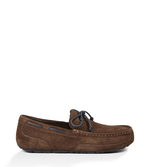 UGG Mens Chester Loafer Leather In Chocolate, Size 18