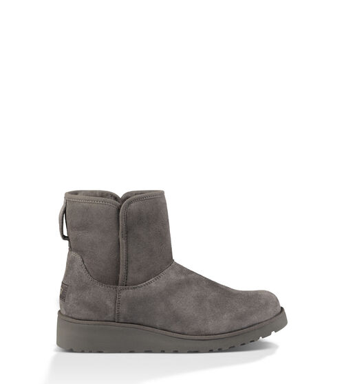 UGG Womens Kristin Boot Sheepskin In Grey, Size 8.5